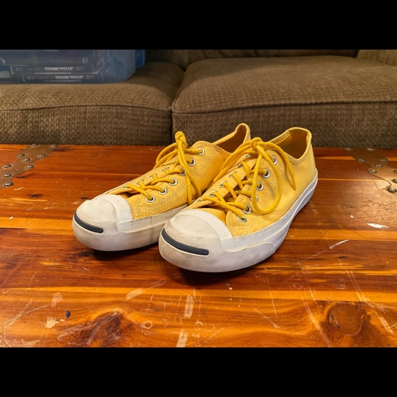 Converse Shoes | Jack Purcell Yellow W7